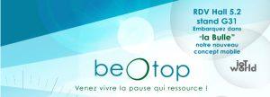 Sérénité&co partenaire de BeOtop sur le salon RH 2017