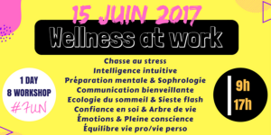 WELLNESS@WORK 15 JUIN 2017
